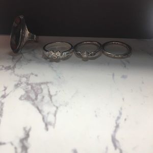 Pandora Jewelry - Lot of rings !